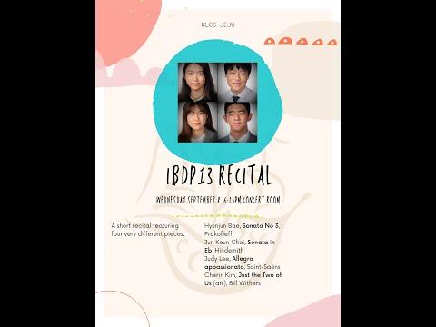 IBDP 13 Recital