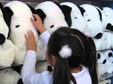 Selecting Snoopy Stuffed Animal Youtube