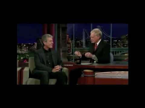 Anthony Bourdain at the Late Show