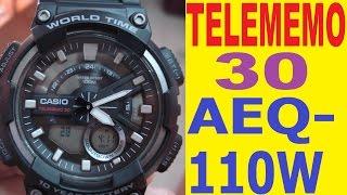 Casio telememo 30 AEQ-110W manual for use