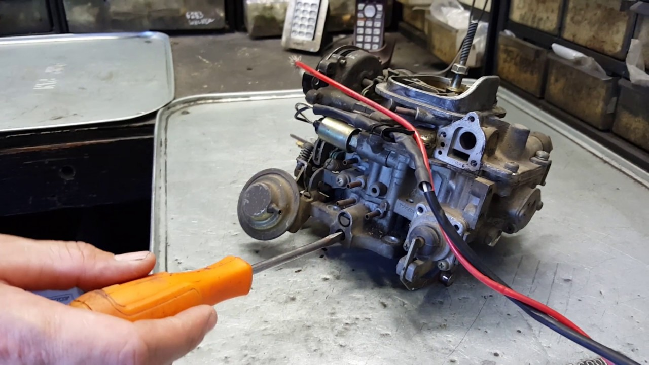 Tuning Toyota Pickup Carburetor