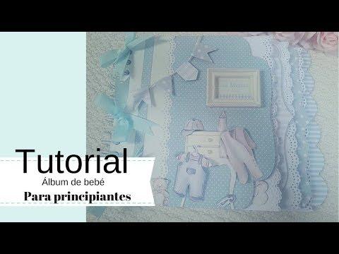 Tutorial Álbum bebé, para principiantes 1ª Parte