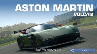 Real Racing 3 Car Customization: Aston Martin Vulcan Maximum Performance Upgrade