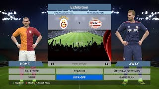 Galatasaray AS vs PSV Eindhoven, Türk Telekom Arena, PES 2016, PRO EVOLUTION SOCCER 2016, Konami, PC
