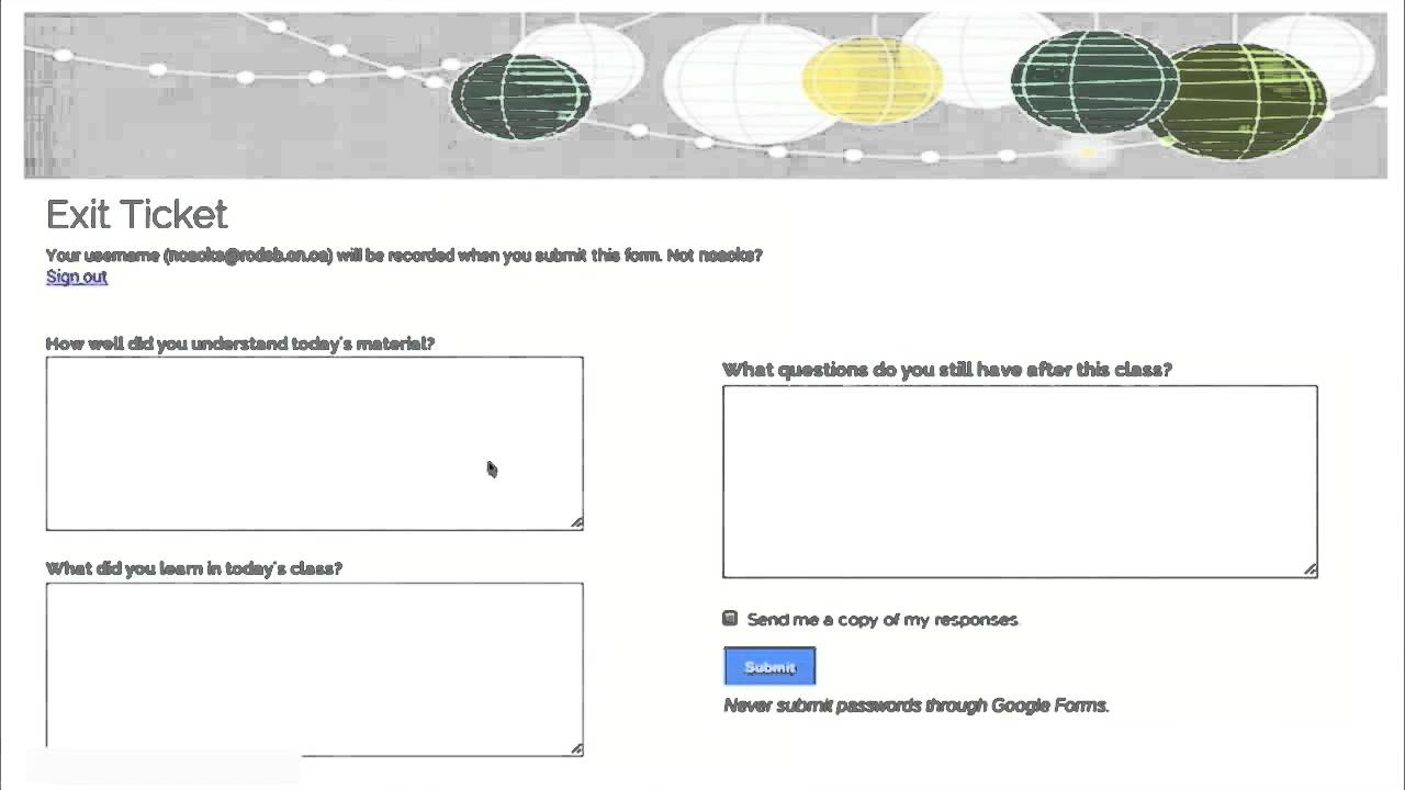 rcdsb google challenge google forms examples from the classroom