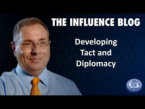 Developing Tact and Diplomacy