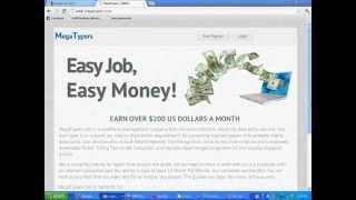 Earn Money Online By Typing 100% Legitimate