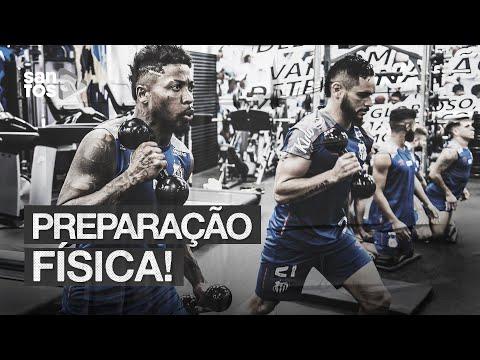 A PREPARAÇÃO FÍSICA DO SANTOS PARA A TEMPORADA 2020