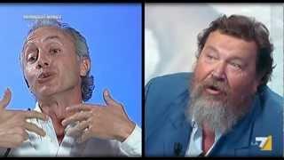 Travaglio VS Ferrara sulla trattativa Stato-Mafia [Parte1di2] (La7, 27Ago2012)