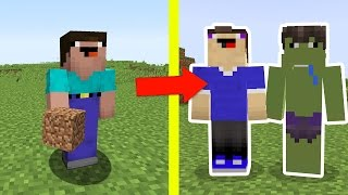 NOOB vs MINECRAFT - AJUDANDO 2 NOOBS!!!