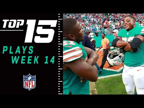 Top 15 Plays of Week 14 | NFL 2018 Highlights