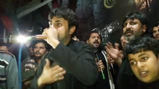 A wanj hussain A live hona Zeshan Haider