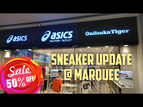 50% OFF ONITSUKA TIGER & SNEAKER UPDATE @ MARQUEE MALL