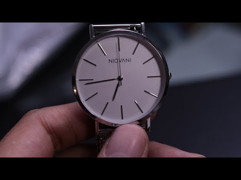 PAKISTAN'S FIRST WATCH COMPANY - NIOVANI | Complete Review