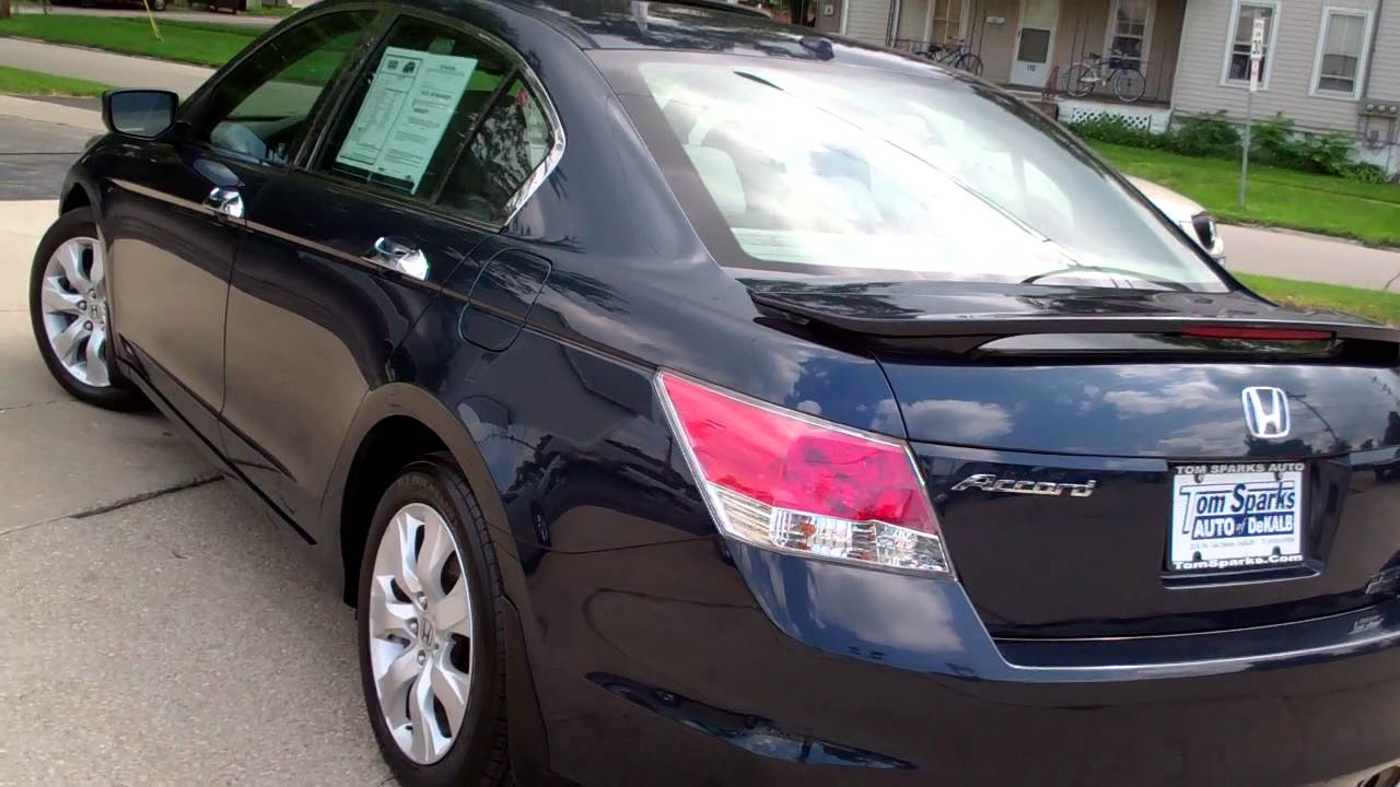 2010 Honda Accord Ex L V6 4dr Sedan Rare Dekalb Il Near