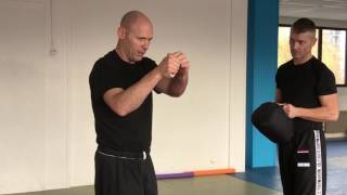 Amnon Darsa Explaining Five Rhythms of Attacks, Institute Krav Maga Netherlands