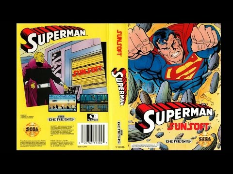 Superman (Sunsoft game) Genesis 5 min