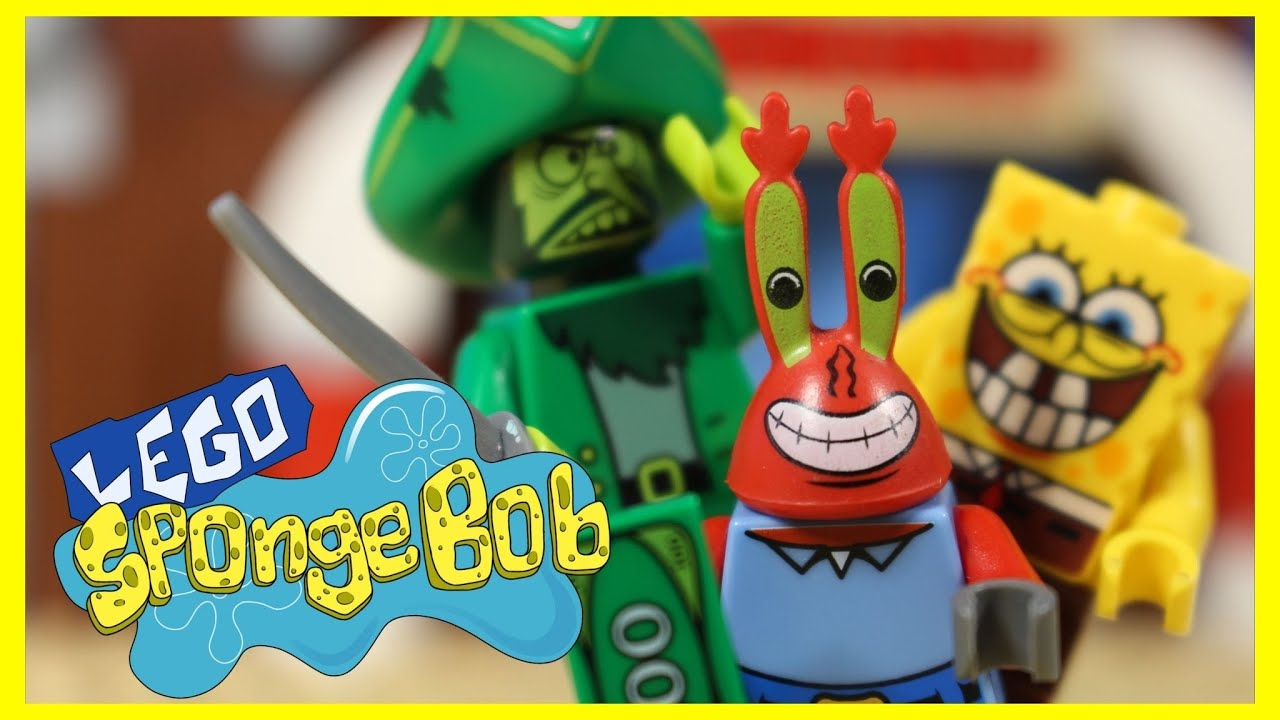 Born Again Krabs -lego spongebob