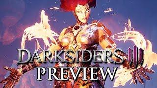 Darksiders 3 Gameplay German Preview - Fury jagt die 7 Todsünden