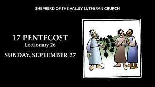 17 Pentecost Worship - September 27, 2020