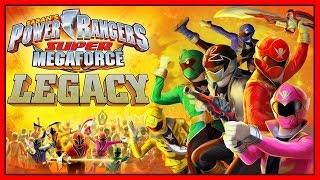 Power Rangers Super Megaforce The Wrath Gameplay Red Power Ranger Vs Tentacuss