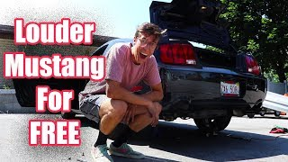 how to make mufflers for cheap