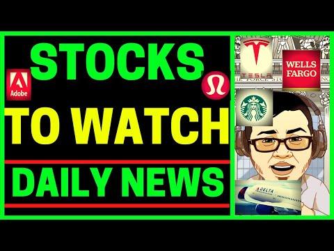 stock-market-news-(tesla-stock,-wfc-stock,-airline-stocks,-starbucks-sbux)-stocks-to-watch!