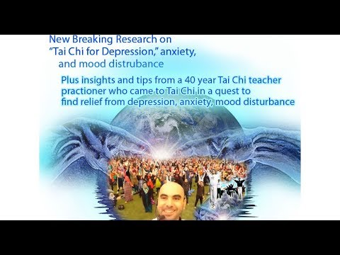 New Breaking Research on Tai Chi for Depression, Anxiety & Mood Disturbance