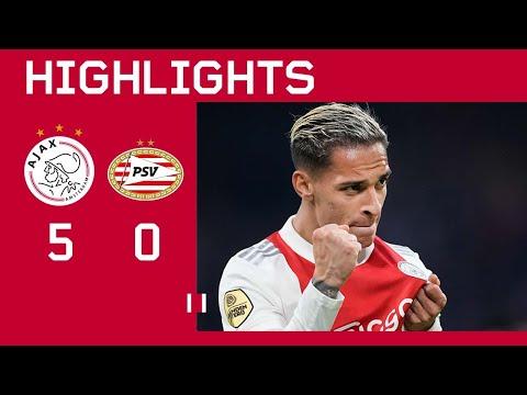 Ajax PSV Goals And Highlights