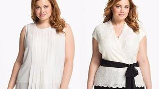 Модные советы для полных девушек, мода для девушек с размером 50 +