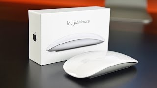 Apple Magic Mouse 2: Unboxing & Review(A quick look at the new Magic Mouse 2 with an internal rechargeable battery and lightning port. This video includes a comparison to the 1st generation., 2015-10-14T03:48:45.000Z)