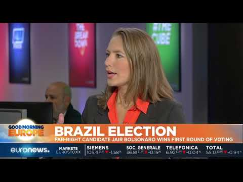 #GME | Brazil Election: Far-right Bolsonaro wins first round of voting