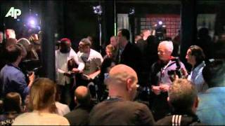 Raw Video: Boxers Fight at News Conference