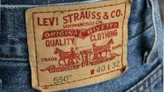 LEVIS HISTORIA DE LEVIS STRAUSS Y  SU  MARCA DE PANTALONES