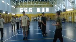 Открытый ( конкурсный ) урок в 11 классе, гимнастика
