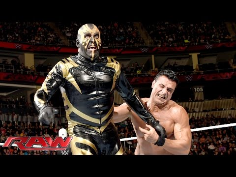 Goldust Vs. Alberto Del Rio: Raw – 30. November 2015