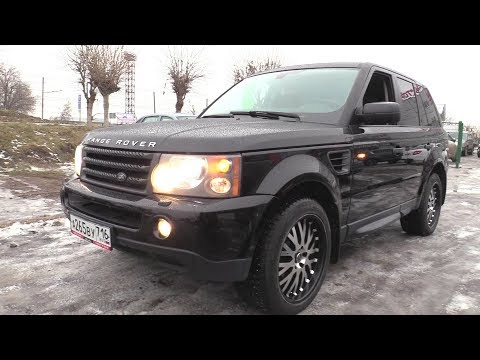 2007 Land Rover Range Rover Sport 4.2L (390) Supercharged. Обзор.