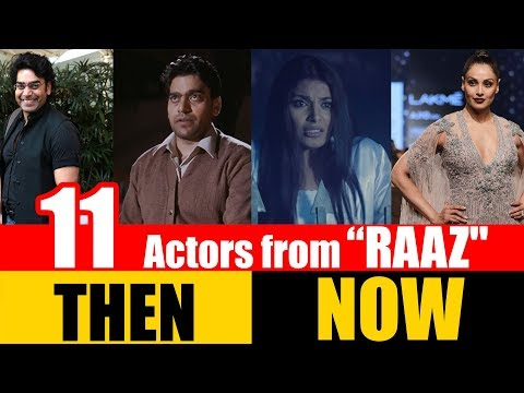 """11 Bollywood Actors from """"RAAZ"""" 2002   THEN and NOW"""