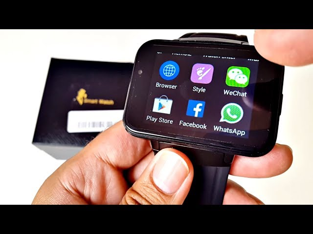 Dm98 Android Smart Watch 3g Large 2 2 Screen Is It Any Good Youtube