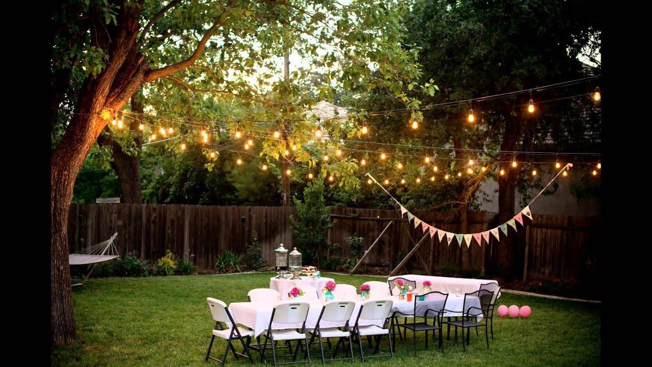 Backyard Decorations - YouTube