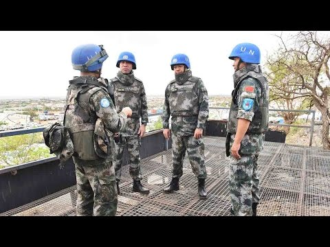 UN inspects Chinese peacekeepers in South Sudan