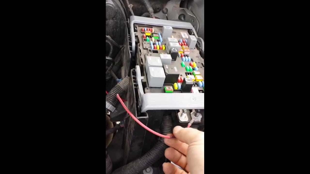 2011 GMC/Chevy trailer accessory diy - YouTube