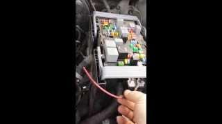 2011 GMC/Chevy trailer accessory diy