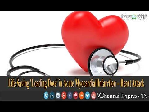 Life Saving 'Loading Dose' in Acute Myocardial Infarction – Heart Attack |  Chennai Express Tv