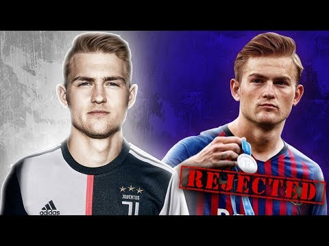 Juventus BEAT Barcelona & PSG to The Signing of £75m De Ligt! | W&L