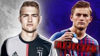 Juventus BEAT Barcelona & PSG to The Signing of £75m De Ligt! | W&L