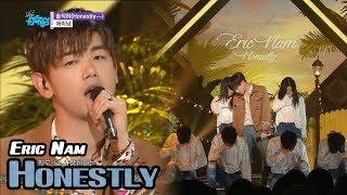 [Comeback Stage] ERIC NAM - Honestly..., 에릭남 - 솔직히 Show Music core 20180414