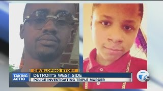 Three people killed in shooting on Detroit