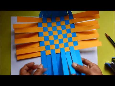 DIY Paper Weaving Basket - Best Paper Craft