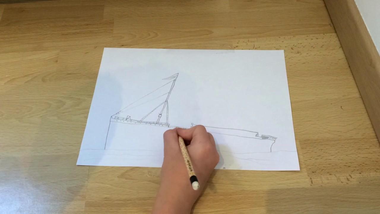 Dessin Animation Dessin Du Titanic Youtube